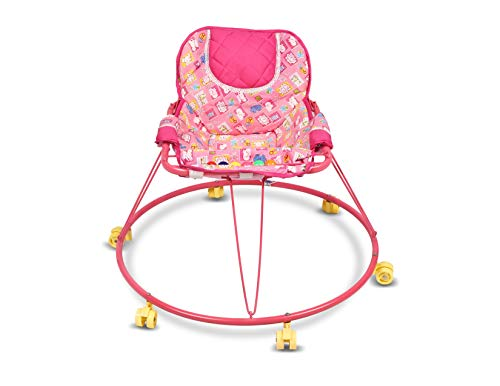 Shabu Baby Walker (Push Chair) 2 in 1 - Model No.14A Age Group [ 8-24 Months ] (Pink)