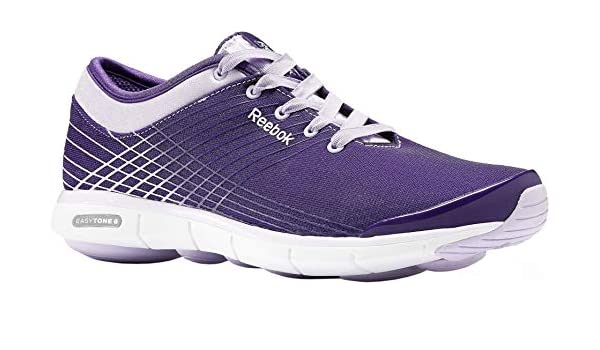 395a0b50052 Reebok Easytone 6 Love M47771 Ladies Shoes Purple Fashion Trainers Fitness  Shoes Training Running Shoes  Amazon.co.uk  Shoes   Bags