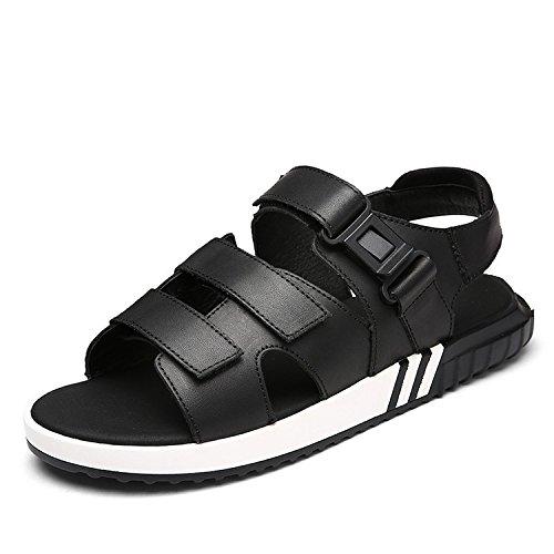 sandali degli uomini di estate, i giovani scarpe da spiaggia degli uomini, grandi cantieri, nero, US6-6.5 / EU38 / UK5-5.5 / CN38 US7.5/EU39/UK6.5/CN40