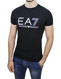 Emporio Armani - T-shirt - manches courtes - Homme noir noir Large