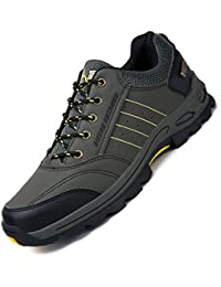 Calzado De Senderismo para Hombres Patinaje Al Aire Libre Senderismo Caza Turismo Deportes De MontañA Calzado Escalada