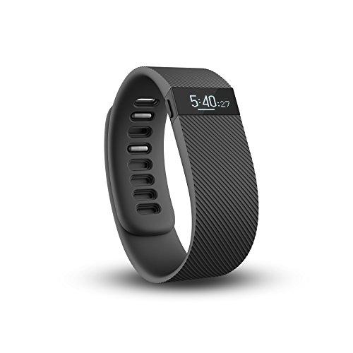 Fitbit Charge Braccialetto Wireless Monitoraggio Sonno e Attività fisica, Taglia S, Nero