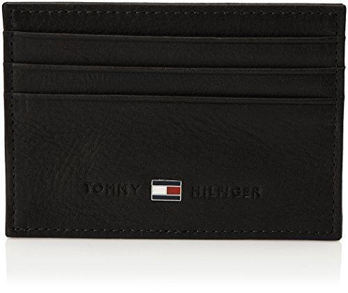 Tommy Hilfiger Johnson, Portefeuille - Noir (Black), Taille Unique