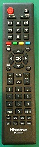 Fernbedienung Original Hisense er-22655hs für TV Typ LHD32K220, ltdn55K2204, ltdn50K220, lhd32K2204, ltdn50d36, ltdn50K2204, ltdn40K2204