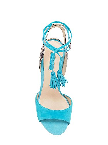 Guess FLAEE1 SUE03 Sandalo Tacco Donna Celeste