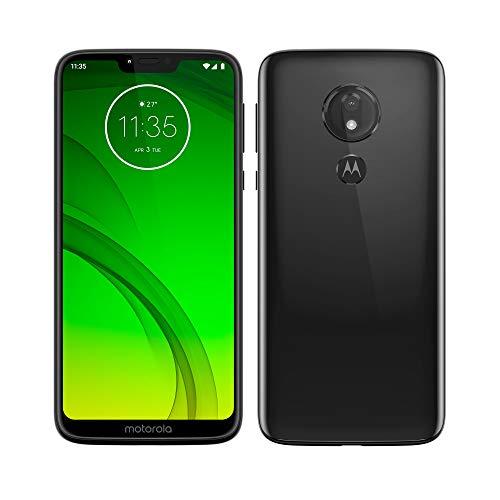 Motorola Moto G7 Power - Smartphone Android 9 (batería 5000 mah con hasta 60h de autonomía, pantalla 6.2'' HD+ Max Vision, cámaras 12MP y 8MP, 4GB RAM, 64 GB, Dual SIM), color negro [Versión española]