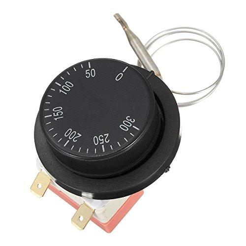 LaDicha Thermostat de Cadran Interrupteur de contrôle de température pour Four électrique AC 250V 10A 50-300 ?