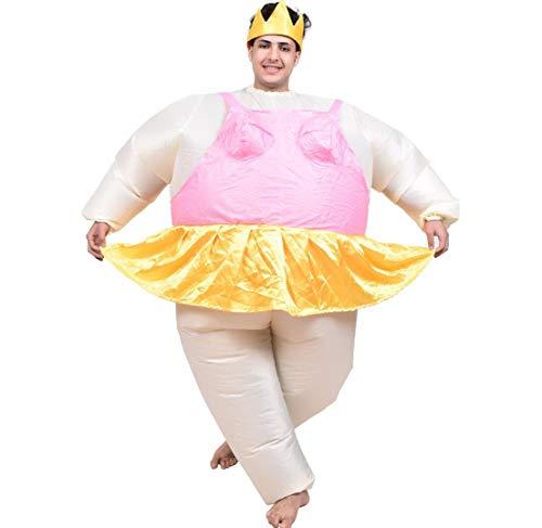 dung Ballett Sumo Bühne Leistung Aufblasbare Kleidung Festival Party Cosplay Kostüm Aufblasbare Kleidung Thanksgiving Weihnachten Kleid (Erwachsene) ()