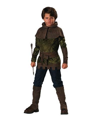 Robin Hood Kostüm für Kinder 6teiliig - 122/128 (Little Trees Kostüm)