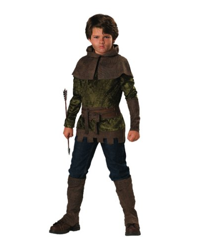 Robin Hood Kostüm für Kinder 6teiliig - ()
