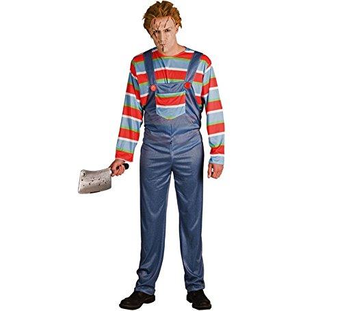 Disfraz de Muñeco Chucky para hombre