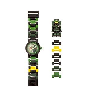 LEGO Ninjago Movie 8021100 Orologio da polso componibile per bambini con cinturino a maglie e minifigure Lloyd 5060286802465 LEGO