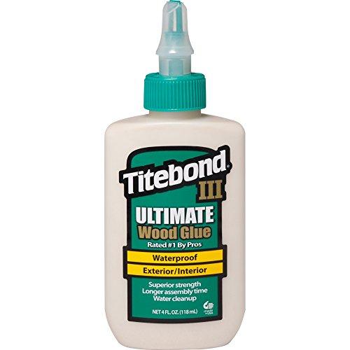 Titebond ZL-141/2 Ultimate Holzleim fr den Innen und Außenbereich, wasserfest, 118 ml - Ca Titebond