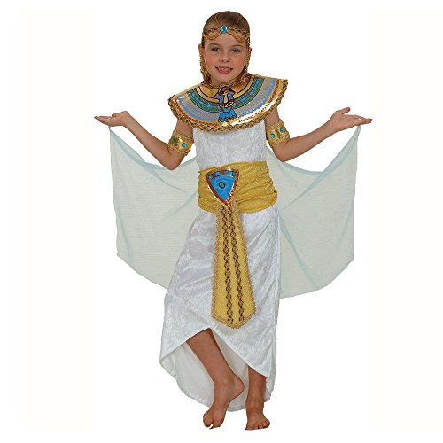 GYPTIAN QUEEN GIRLS COSTUME FANCY DRESS UP PARTY (Cleopatra Kostüme Kinder)