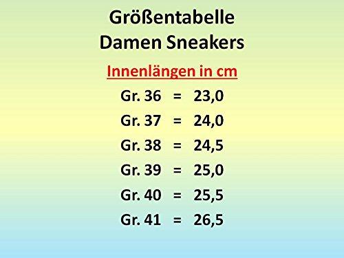 Gibra Sneaker, imbottiti, Nero, Gr. 36–41 Nero