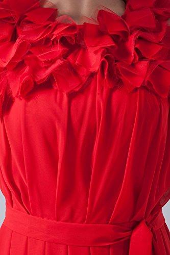 Bridal_Mall - Robe - Trapèze - Sans Manche - Femme Violet - Violet