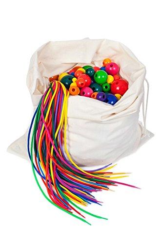 Infilando materiale che infila borsa - un imballaggio di asilo di 500 parti delle perle (Handcrafted Perle)