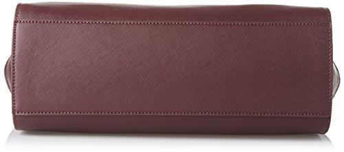 Blu Byblos 675844, Borsa a Tracolla Donna, 13.5 x 24 x 39 cm (W x H x L) Rosso (Bordeaux)