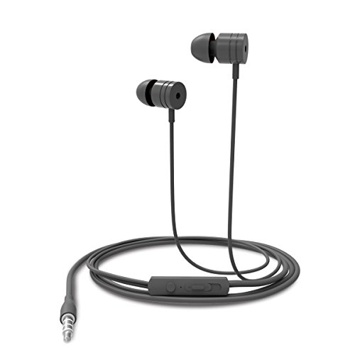 Portronics Por-766 Conch 204 in-Ear Stereo Having 3.5Mm Aux Port Headphone (Grey)