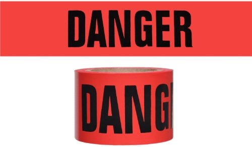 swanson-bt100dgr2-3-inch-by-1000-feet-2-mil-barricade-tape-with-danger-red-black-print-by-swanson