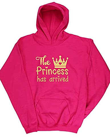 Costume Prince Childrens Fantaisie - HippoWarehouse - Sweat-shirt à capuche - Fille