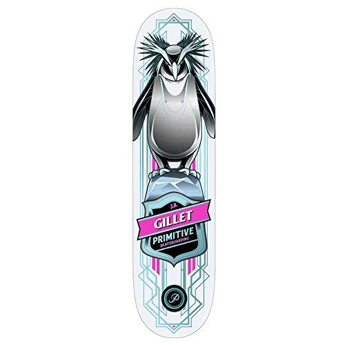 Primitive Gillet Pro Penguin 8 Inch Skateboard Deck 8 inch Multi (Primitive Skateboards-deck)