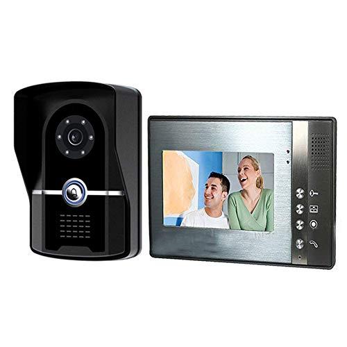 M-zmds Drahtlose Video-Türklingel, DIY-Türsprechanlage mit Weitwinkelkamera, Nachtversion, PIR-Sensor, 200M Langstrecken ohne Sorgen, Video und HD-Sound