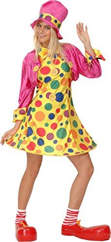 Fiori Paolo 25928 - Lady Clown, Taglia M, Multicolore