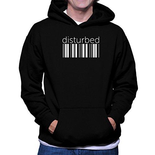 Felpe con cappuccio disturbed barcode