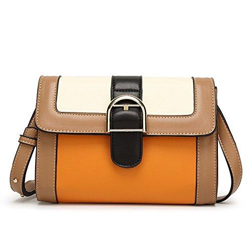 Eysee, Borsa a tracolla donna marrone Apricot 22 cm*16 cm*7cm Apricot