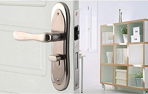 Wandun Lock Bedroom Verrouillage de porte de style européen Serrures