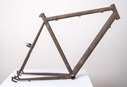 """28"""" Zoll Stahl City Trekking Fahrrad Herren Rahmen frame Rh 58cm roh unlackiert"""