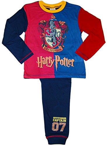 Harry Potter Gryffindor Jungen Schlafanzug rot Red / Blue / Multicolour One size Gr. 5-6 Jahre , Red / Blue / Multicolour
