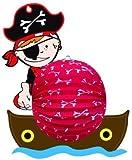 """Lampion / Laterne """"Pirat"""" / ca. 45x38cm"""