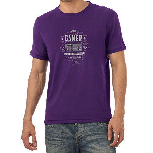 TEXLAB - The Master Gamer - Herren T-Shirt Violett