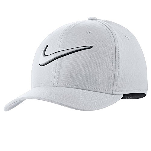 Nike 868378-100 Casquette Mixte Adulte, Blanc/Anthracite/Noir, FR : S (Taille Fabricant : S/M)