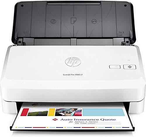 HP ScanJet Pro 2000 S1 Scanner Singola Scansione Professionale per Documenti e Iagini Compatto e Pratico Bianco
