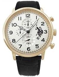 Reloj U.S. Polo Assn. Varenne usp4358yg QX Piel Cronógrafo