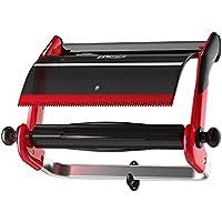 Tork 652108 Wandhalter in Rot Schwarz/Papierrollenhalter für Tork W1 Papierwischtücher im Performance Design
