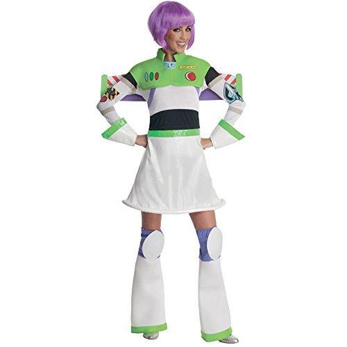 Schuhe Kostüm Für Lightyear Buzz (Kostüm Fräulein Buzz Lightyear für Damen)