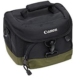 Canon 0027X679 Sacoche pour Reflex et Objectifs EF Noir et Beige