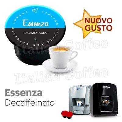 Lavazza Blue e in black nims compatibili 100 CAPSULE caffè DECAFFEINATO Italian coffee Essenza