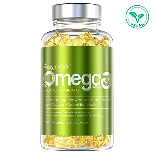 OMEGA 3 100% NATUREL - COMPLEMENT ALIMENTAIRE VEGAN - A...