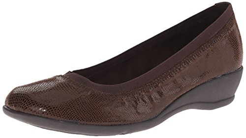 Brown Rogan Hush Soft Flat Dark Womens Style Puppies w0qCUF