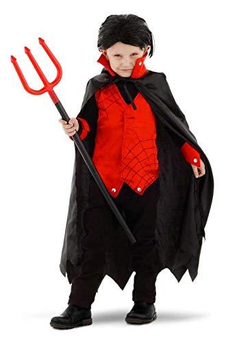 Folat 61407 Dracula Vampir Kostüm Junge, Costume, ()