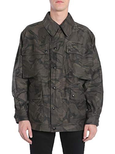 Tom Ford Herren Bn181tfo523102 Grün Baumwolle Jacke