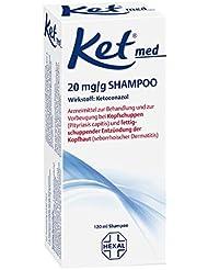 Ket med 20 mg/g Shampoo, 120 ml