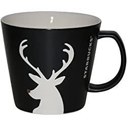 Starbucks negro reno taza taza de café de Navidad