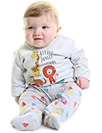 0fc184b5e4e Crawlerz Anti Slip Baby Romper - Sleepsuits Designed with Grips on the Legs  of the Babygrow
