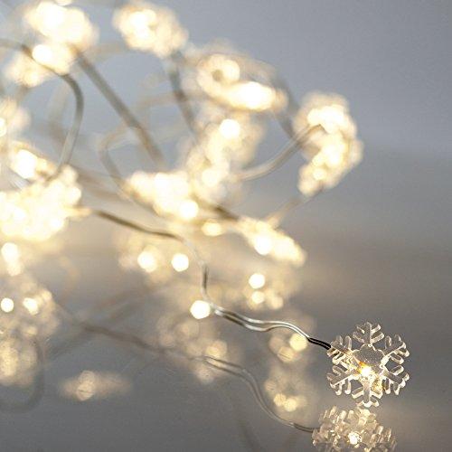 Lichterkette Schneeflocke - einfach finden auf lichterketten-24.de!
